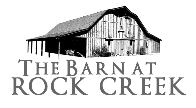 The Barn At Rock Creek Gives An Authentic Rustic Backdrop