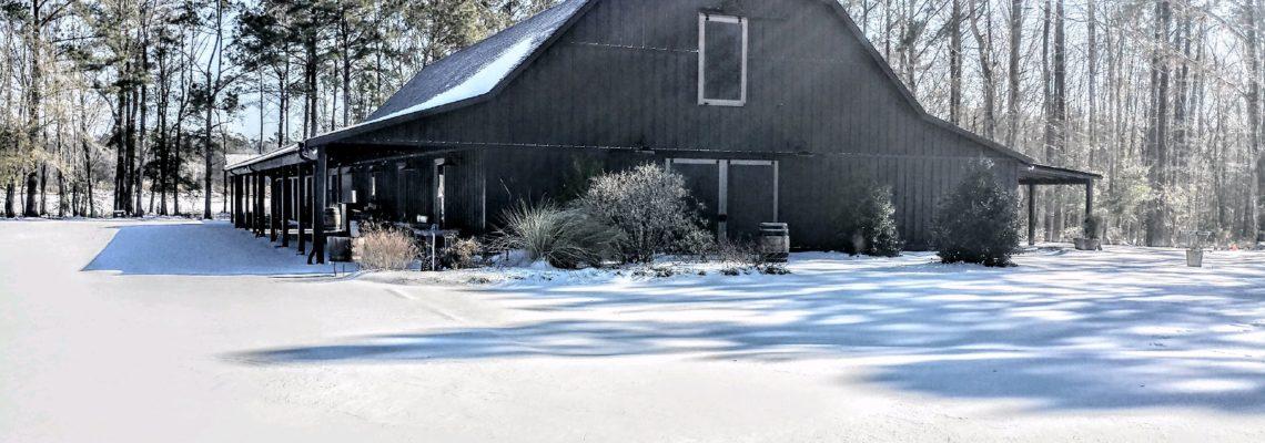 Snow day at The Barn